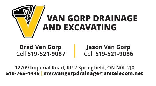 Van Gorp Drainage and  Excavating